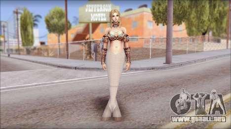 Mermaid Salmon Tail para GTA San Andreas
