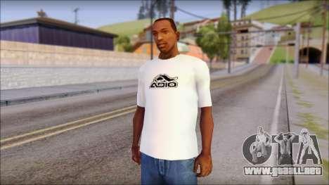 Adio T-Shirt para GTA San Andreas