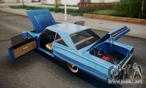 Dodge Coronet 440 Hardtop Coupe (WH23) 1967 para visión interna GTA San Andreas