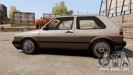Volkswagen Golf GTI Mk2 para GTA 4 left