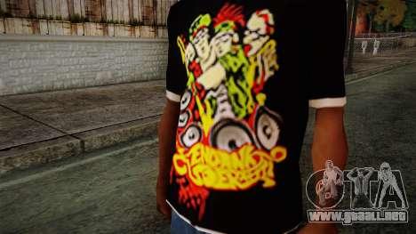 Endank Soekamti T-Shirt para GTA San Andreas tercera pantalla