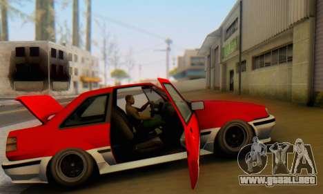 Karin Futo para la vista superior GTA San Andreas
