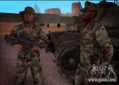 90s California National Guard para GTA San Andreas tercera pantalla