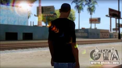 Dem Boyz T-Shirt para GTA San Andreas segunda pantalla