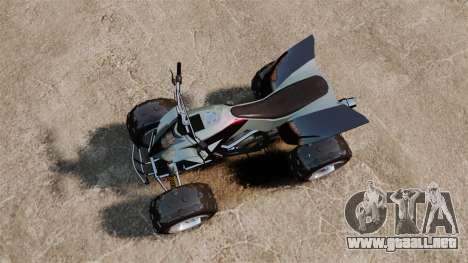 GTA V Nagasaki Blazer v2 para GTA 4 visión correcta