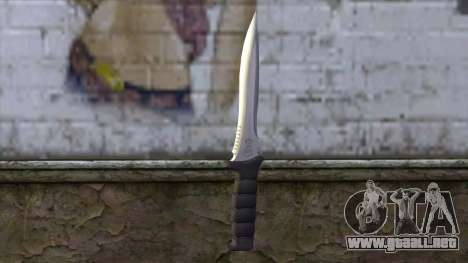Knife from Resident Evil 6 v1 para GTA San Andreas