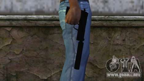 USP-S from CS:GO v2 para GTA San Andreas tercera pantalla
