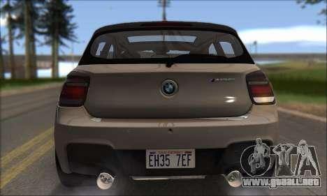 BMW M135i para la vista superior GTA San Andreas