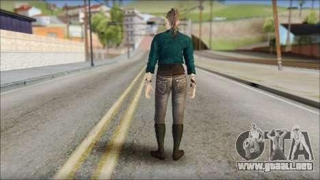 Clara Lille From Watch Dogs para GTA San Andreas segunda pantalla