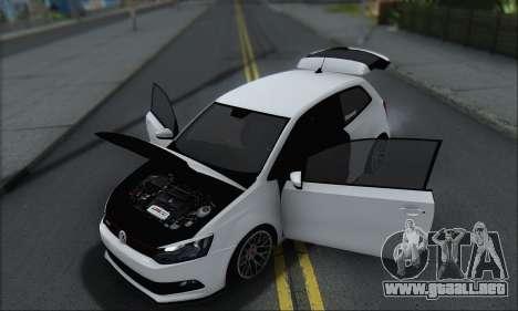 Volkswagen Polo para la vista superior GTA San Andreas
