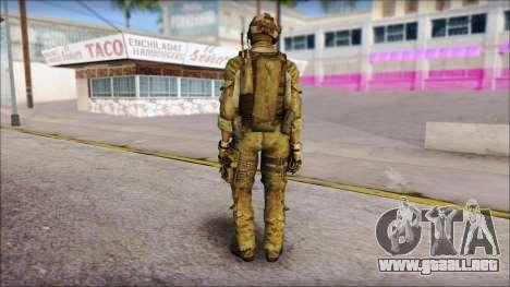 Truck from Modern Warfare 3 para GTA San Andreas segunda pantalla