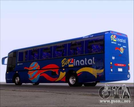 Busscar El Buss 340 Bio Linatal para la visión correcta GTA San Andreas