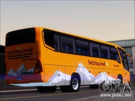 Marcopolo Viaggio 1050 G7 Buses Interregional para GTA San Andreas vista posterior izquierda