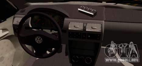 Volkswagen Golf G3 para GTA San Andreas vista posterior izquierda