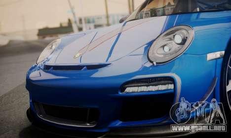 Porsche 911 GT3 RS4.0 2011 para el motor de GTA San Andreas