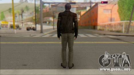 Leon .S.Kennedy v1 para GTA San Andreas segunda pantalla