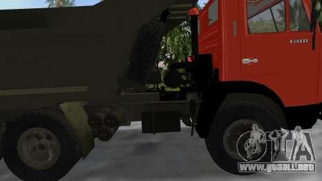 KamAZ 5511 para GTA Vice City visión correcta