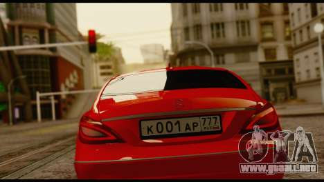 Mercedes-Benz CLS 63 para GTA San Andreas left