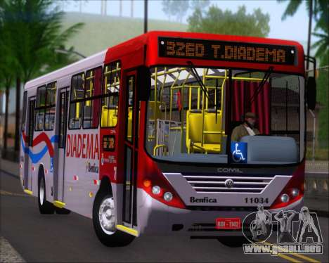 Comil Svelto 2008 Volksbus 17-2 Benfica Diadema para GTA San Andreas left