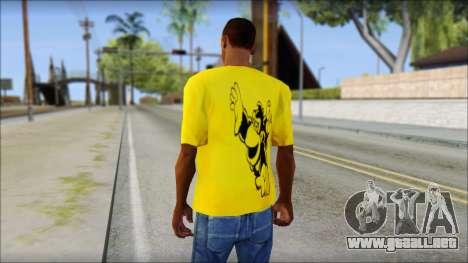 Bud Spencer And DAnusKO T-Shirt para GTA San Andreas segunda pantalla