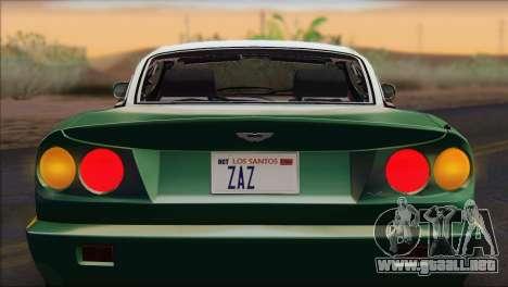 Aston Martin V8 Vantage V600 1998 para la visión correcta GTA San Andreas
