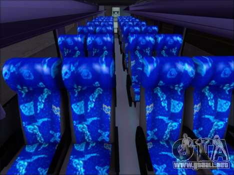 Marcopolo Viaggio 1050 G7 Buses Interregional para GTA San Andreas vista hacia atrás