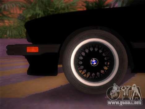 BMW 535i US-spec e28 1985 para GTA Vice City visión correcta