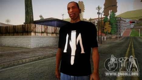 Shirt Madafaka para GTA San Andreas