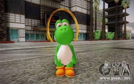 Yoshi from Super Mario para GTA San Andreas