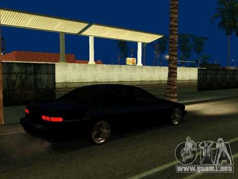 Chevrolet Impala SS 1995 para GTA San Andreas vista hacia atrás