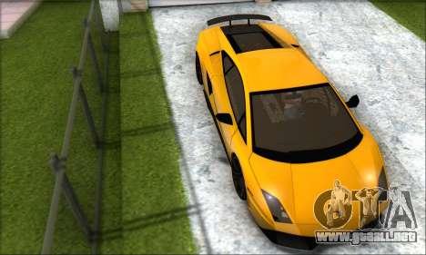 Lamborghini Gallardo LP570 Superleggera para GTA San Andreas left