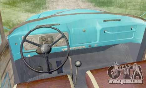ZIL 130 para la visión correcta GTA San Andreas