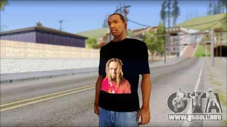 Max Cavalera T-Shirt v2 para GTA San Andreas