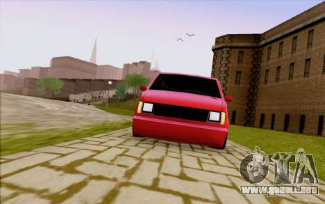 Moonbeam Stance para vista lateral GTA San Andreas