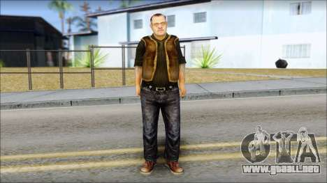 BarMan of 100 X-Ray para GTA San Andreas segunda pantalla