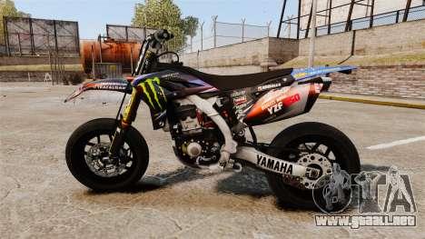 Yamaha YZF-450 v1.18 para GTA 4 left