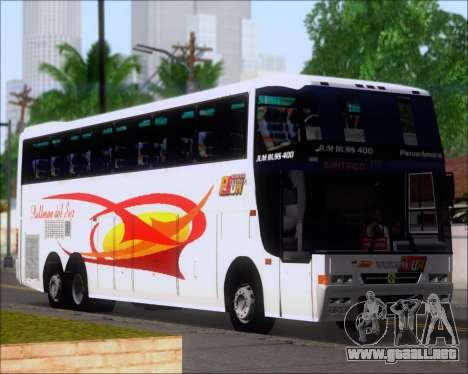 Busscar Jum Buss 400 Volvo B10R Pullman Del Sur para las ruedas de GTA San Andreas