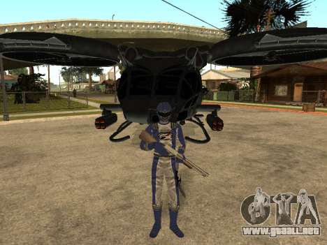 Power Rangers Operation Overdrive para GTA San Andreas octavo de pantalla