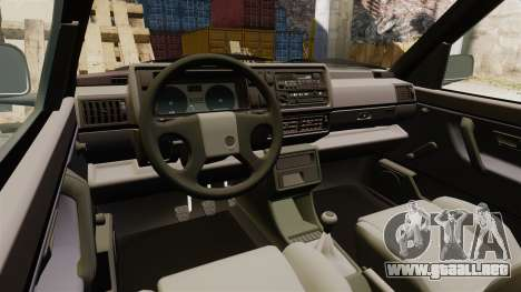 Volkswagen Golf GTI Mk2 para GTA 4 vista interior