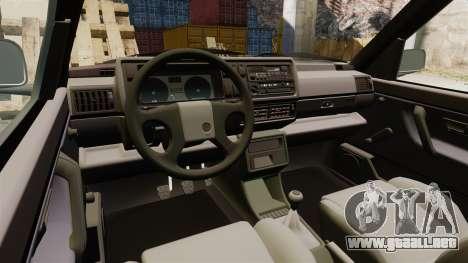 Volkswagen Golf GTI Mk2 para GTA 4 vista interior