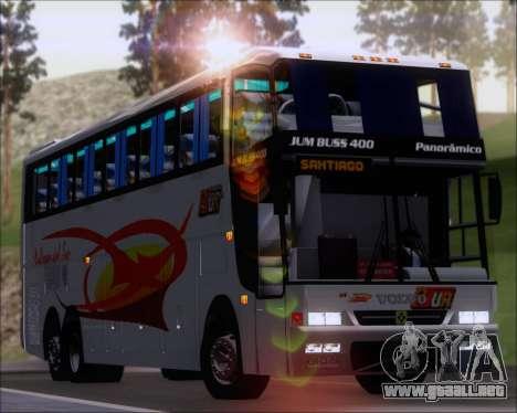 Busscar Jum Buss 400 Volvo B10R Pullman Del Sur para GTA San Andreas
