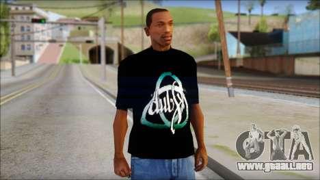 Dub Fx Fan T-Shirt v2 para GTA San Andreas