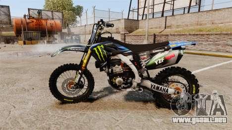 Yamaha YZF-450 v1.3 para GTA 4 left