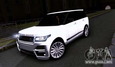 Land Rover Range Rover Startech para GTA San Andreas left