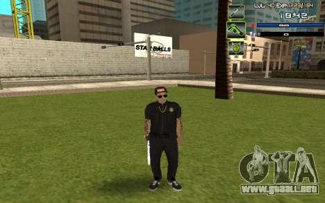 C-HUD by SampHack v.5 para GTA San Andreas segunda pantalla