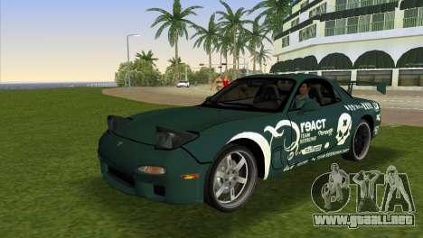 Mazda RX-7 Tuning para GTA Vice City