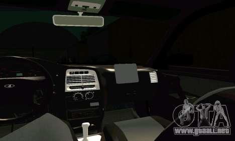 VAZ 21123 Turbo para la vista superior GTA San Andreas