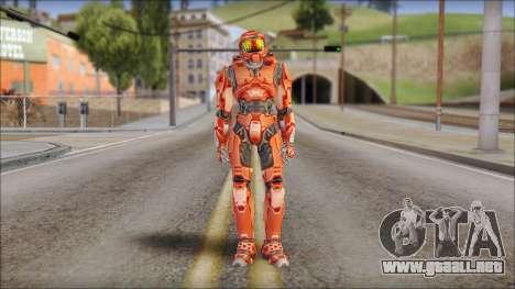 Masterchief Red from Halo para GTA San Andreas