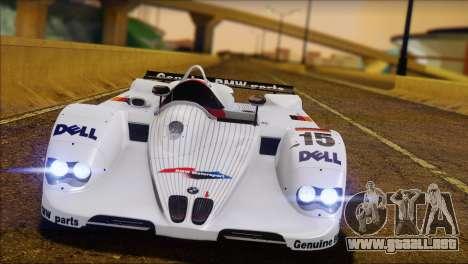 BMW 14 LMR 1999 para GTA San Andreas