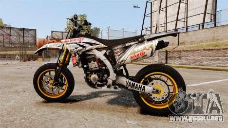 Yamaha YZF-450 v1.20 para GTA 4 left